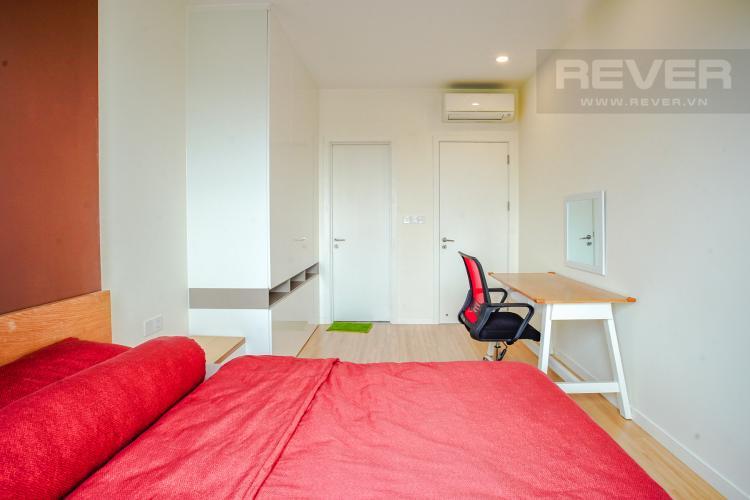 Phòng Ngủ 2 Cho thuê căn hộ Masteri Millennium 2PN, block A, đầy đủ nội thất, view sông, Bitexco và Landmark 81