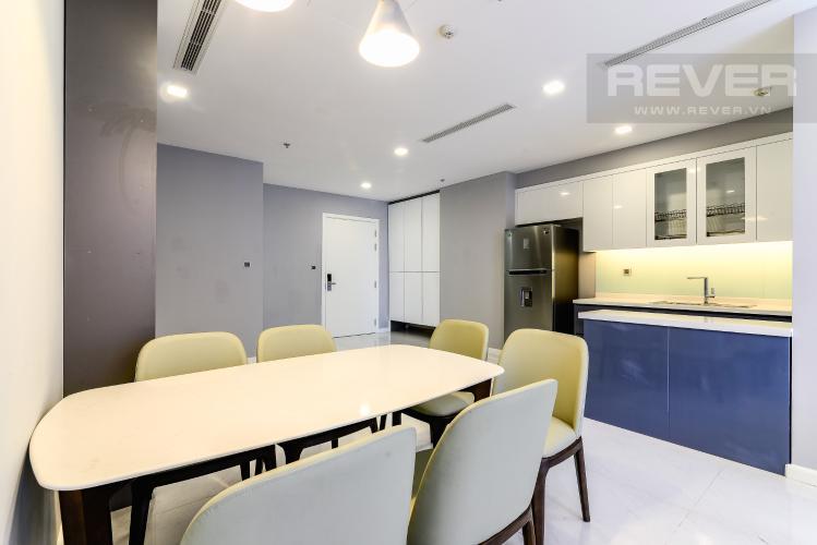 Phòng Ăn & Bếp Căn hộ Vinhomes Central Park tầng cao, Park 3, 3 phòng ngủ, full nội thất