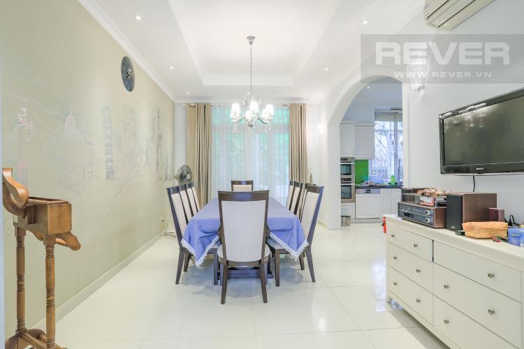 Phòng Ăn Nhà phố đường Lê Văn Lương, Quận 7, 3 tầng, nội thất đầy đủ, sổ đỏ chính chủ