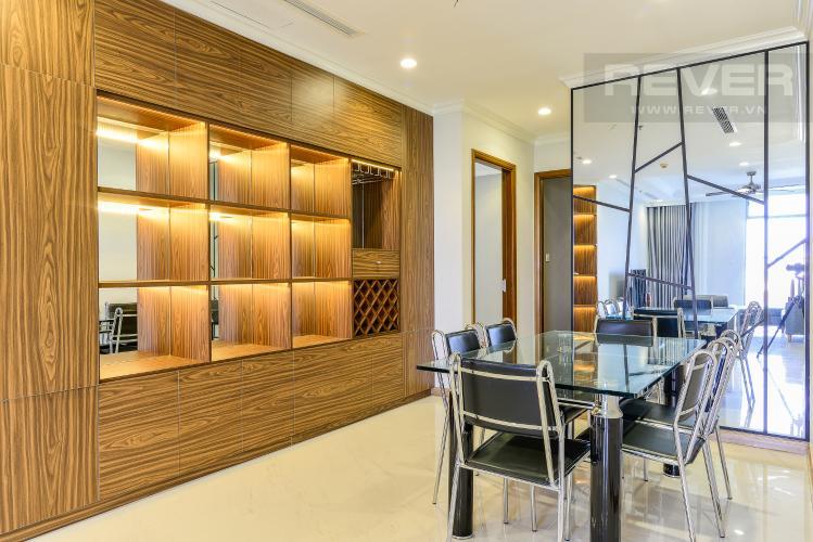 Phòng Ăn Căn hộ Vinhomes Central Park 4 phòng ngủ tầng thấp L1 view công viên
