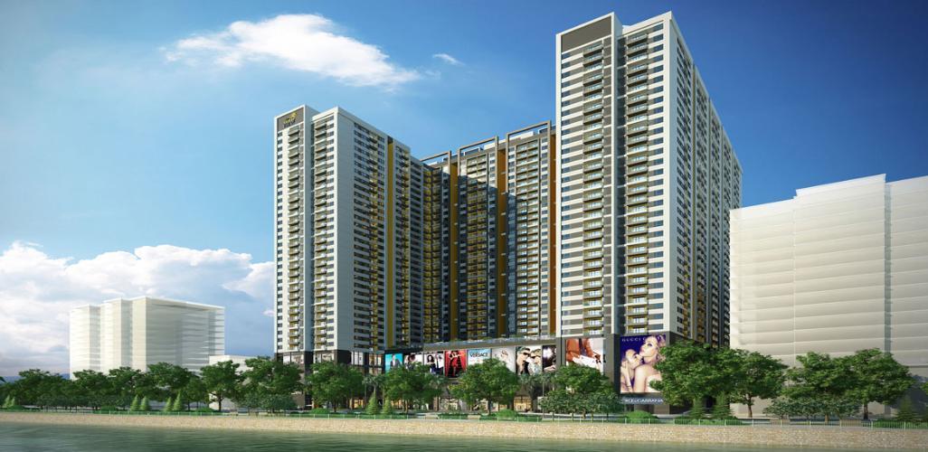 Dự án The Gold View quận 4 Căn hộ The Gold View tầng thấp, view nội khu thông thoáng.