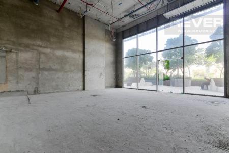 Cho thuê shophouse Masteri Millennium, block A, diện tích 92m2, bàn giao thô, mặt tiền Bến Vân Đồn Quận 4