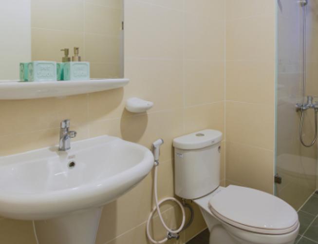 Phòng tắm căn hộ M-One Nam Sài Gòn Căn hộ M-One Nam Sài Gòn hướng Đông Bắc, view nội khu yên tĩnh.