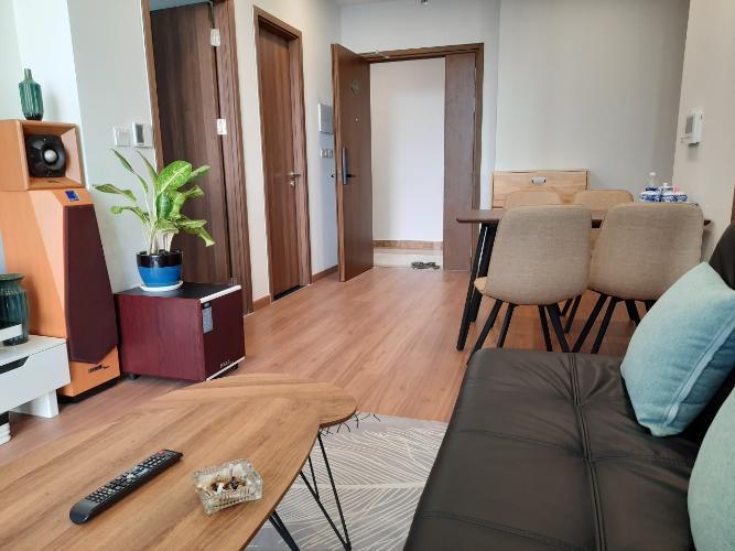 Phòng khách căn hộ Eco Green Saigon Căn hộ Eco Green Saigon 2 phòng ngủ thiết kế hiện đại đầy đủ nội thất