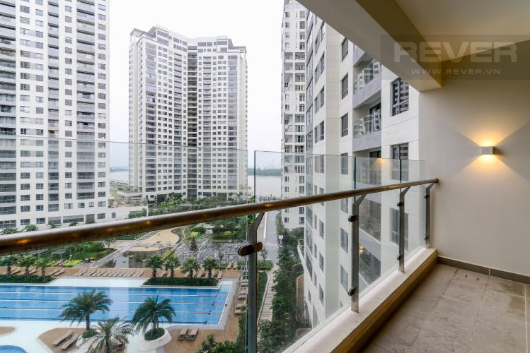 View Balcony Căn hộ Diamond Island - Đảo Kim Cương 2PN, view hồ bơi
