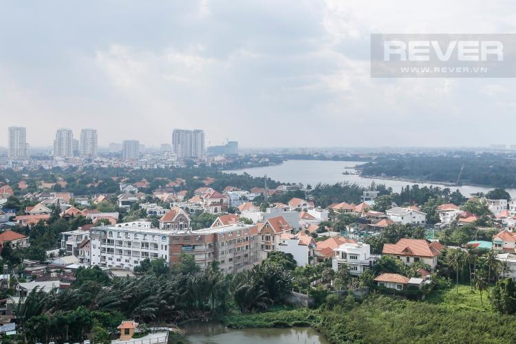 View Căn hộ Masteri Thảo Điền 3 phòng ngủ tầng trung T5 view nội khu