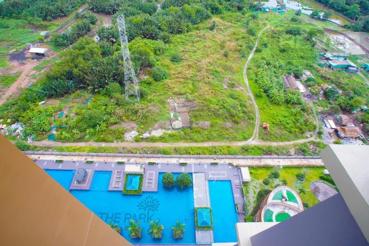 View Hồ Bơi Bán căn hộ The Park Residence 2 PN tầng cao block B4, diện tích 63m2, đầy đủ nội thất