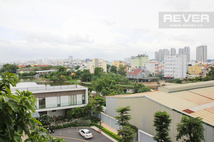 View Ban Công Bán căn hộ M-One Nam Sài Gòn 2 phòng ngủ, đầy đủ nội thất, thiết kế ban công nhỏ xinh