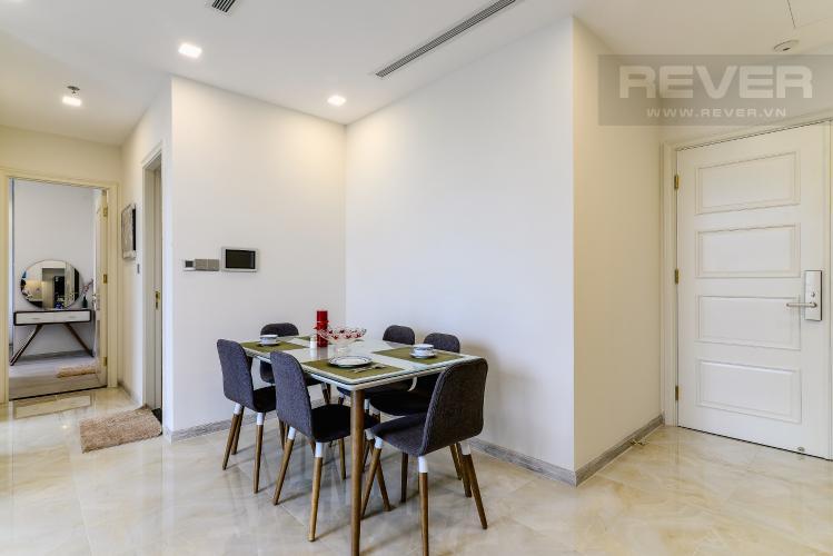 Phòng Ăn Officetel Vinhomes Golden River tầng thấp, 2 phòng ngủ, full nội thất