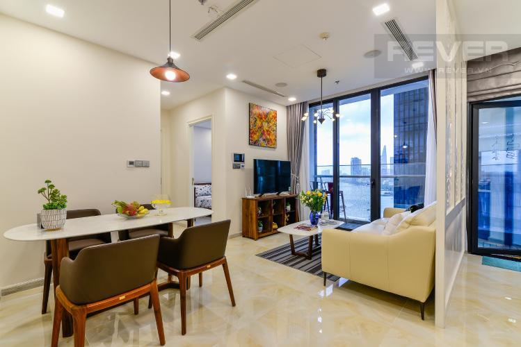 Tổng Quan Cho thuê căn hộ Vinhomes Golden River 2PN đầy đủ nội thất, view sông Sài Gòn