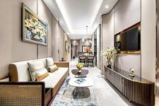 Điểm nhấn đặc biệt trong thiết kế nội thất căn hộ The Marq