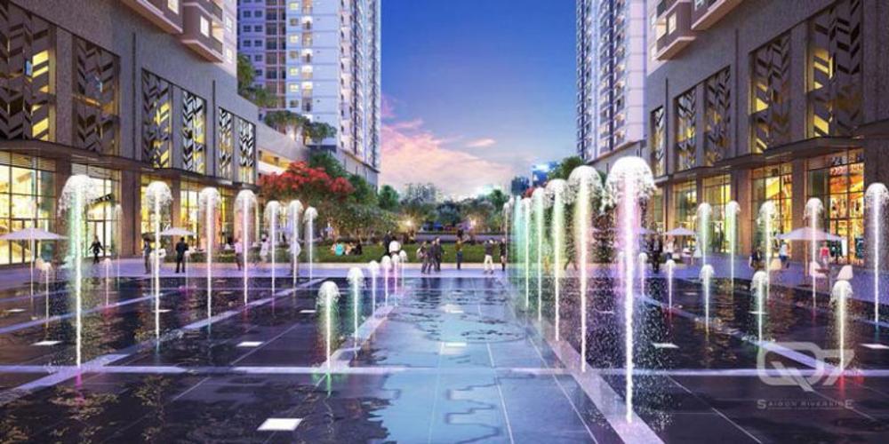 tiện ích dự án Q7 Saigon Riverside Căn hộ Q7 Saigon Riverside tầng cao, view đường Đào Trí.