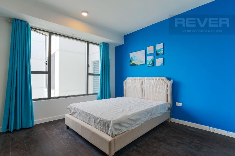 Phòng Ngủ 1 Căn hộ The Tresor tầng cao 2PN đầy đủ nội thất, có ban công