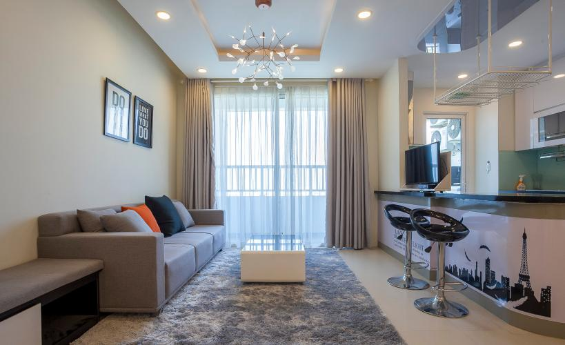 Căn hộ Lexington Residence 3 phòng ngủ tầng cao LA nội thất đầy đủ