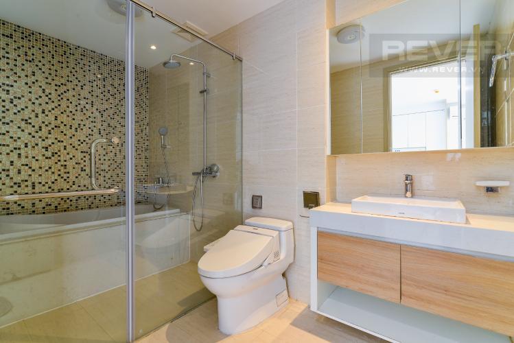 Phòng Tắm Bán hoặc cho thuê căn hộ New City Thủ Thiêm 1PN tầng trung tháp Bali, view nội khu đẹp