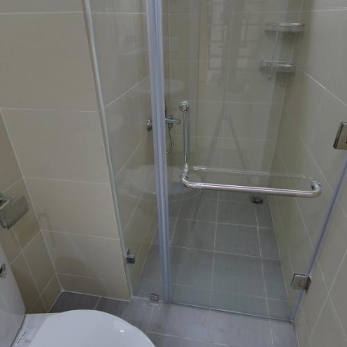 Phòng tắm M-One Nam Sài Gòn, Quận 7 Căn hộ Office-tel M-One Nam Sài Gòn tầng thấp, view quận 1 sầm uất