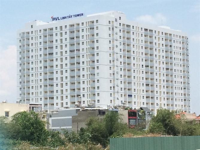 Linh Tây Tower Căn hộ chung cư Linh Tây view thành phố sầm uất, nội thất cơ bản.