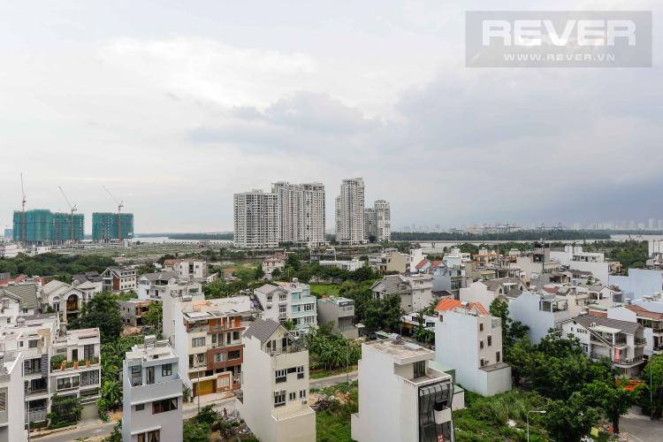 View Bán căn hộ The Sun Avenue 2PN, block 4, không nội thất, view nhìn về hướng Đảo Kim Cương và Thạnh Mỹ Lợi