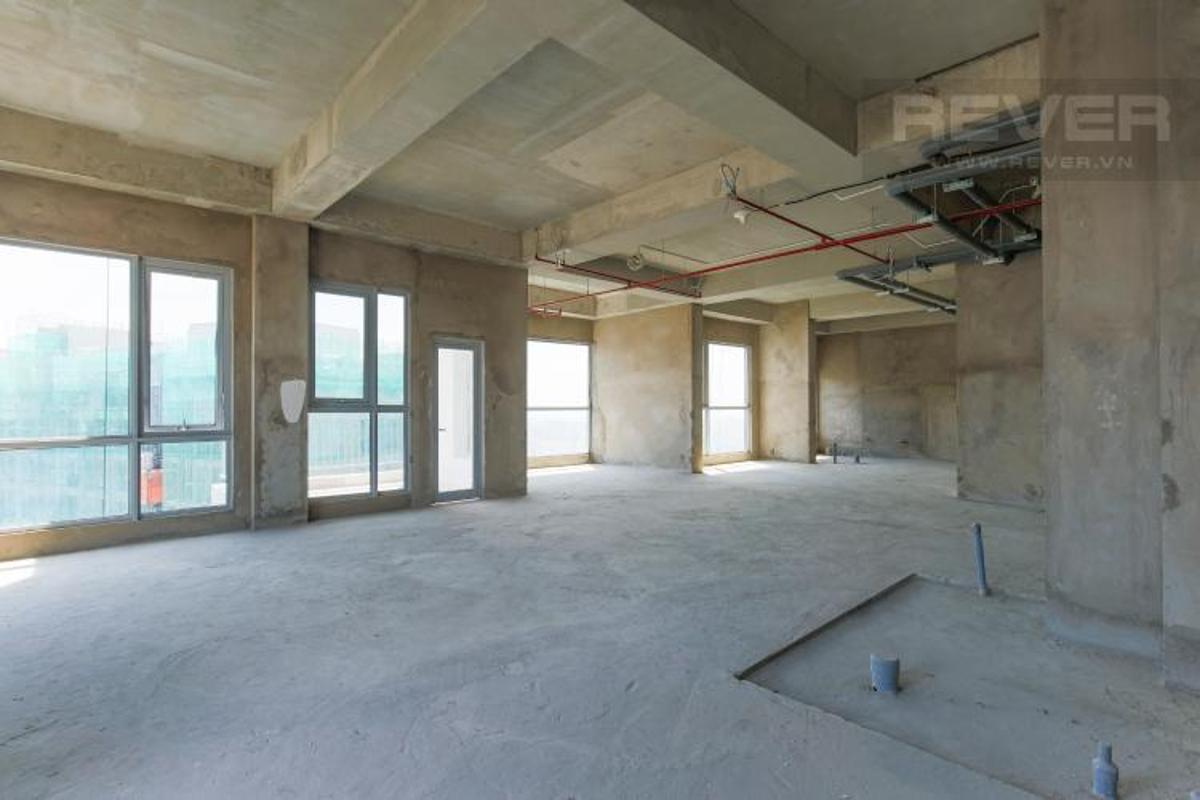 Không gian bên trong shop-house Masteri Millennium Shophouse Masteri Millennium đầu tư kỹ lưỡng, ban giao thô.
