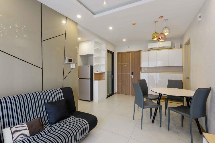 Phòng Khách Cho thuê căn hộ New City Thủ Thiêm 2PN, tháp Babylon, đầy đủ nội thất, view hồ bơi nội khu