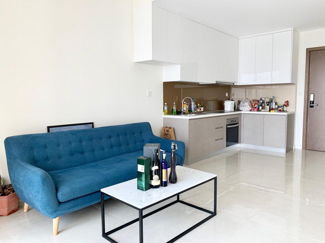 can-ho-MASTERI-MILLENNIUM Bán căn hộ Masteri Millennium 2PN, block A, đầy đủ nội thất, ban công hướng Đông Bắc, view Quận 1