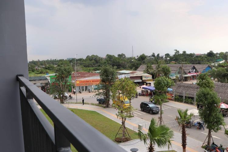 view căn hộ Vinhomes Grand Park  Cho thuê căn hộ nội thất cơ bản Vinhomes Grand Park, view thành phố