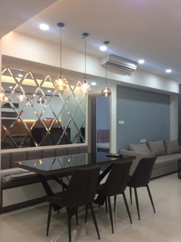 phòng khách căn hộ The Sun Avenue Cho thuê căn hộ The Sun Avenue, block 3, diện tích 109m2, đầy đủ nội thất