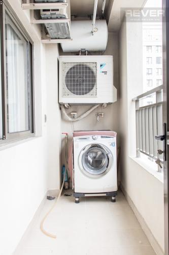 Ban Công Bán căn hộ Icon 56 3PN, tầng thấp, đầy đủ nội thất, đã có sổ hồng