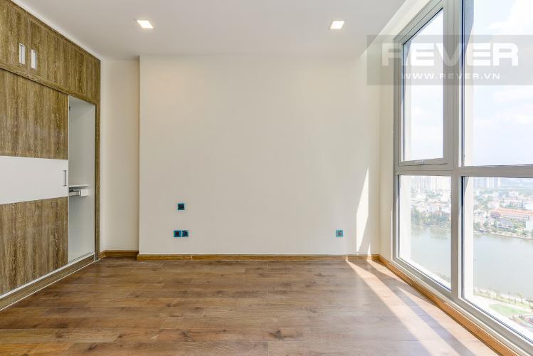 Phòng ngủ 4 Căn góc Vinhomes Central Park 4 phòng ngủ tầng cao P4 view sông