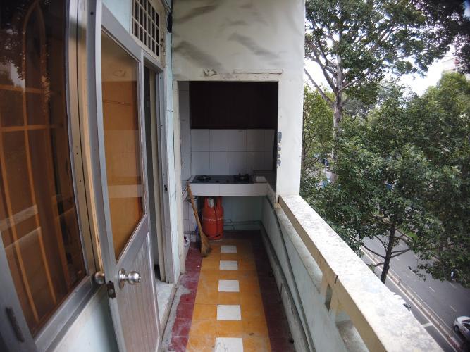 Phòng bếp căn hộ chung cư Trần Hưng Đạo Căn hộ chung cư Trần Hưng Đạo ban công hướng Đông Nam, view thành phố.