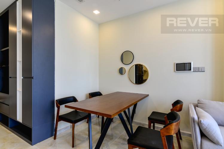 Phòng Ăn Căn hộ Vinhomes Golden River 2 phòng ngủ tầng cao A4 view sông