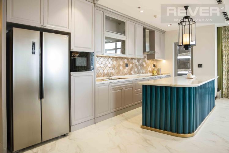 Bếp Căn hộ Vinhomes Central Park tầng cao, 4PN, đầy đủ nội thất