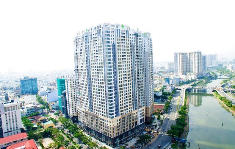 Căn hộ Saigon Royal , Quận 4 Căn hộ Saigon Royal hướng cửa Tây Nam, view nội khu yên tĩnh.