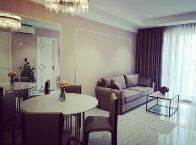 phòng khách Saigon South Residences Cho thuê căn hộ đầy đủ nội thất, view thành phố Saigon South Residence