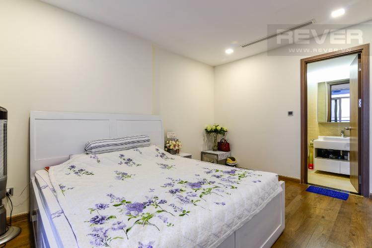 Phòng Ngủ 1 Căn hộ Vinhomes Central Park tầng cao 3PN view sông, nội thất hoàn chỉnh