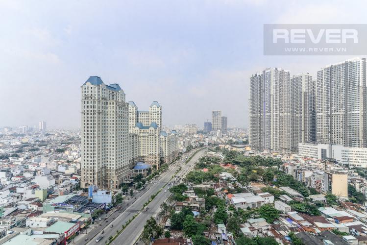 View Căn hộ Sài Gòn Pearl 3 phòng ngủ tầng cao Saphire nội thất đầy đủ