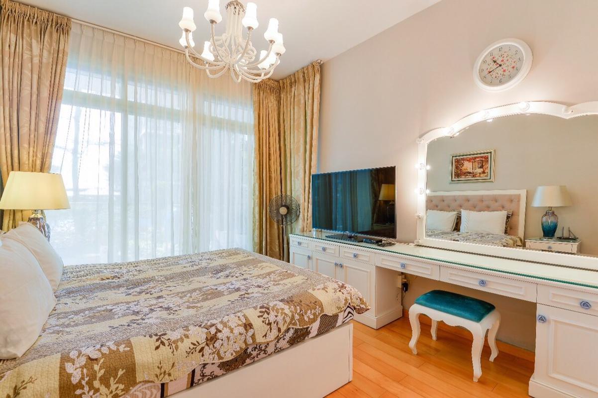 Phòng ngủ Master Bán căn hộ sân vườn The Vista An Phú 3PN, tháp T4, diện tích 179m2, đầy đủ nội thất, hướng Tây Bắc