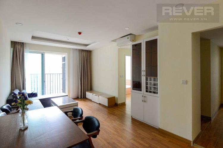 Phòng Khách Bán căn hộ Vista Verde 2 phòng ngủ, tầng cao hướng Đông Nam, đầy đủ nội thất cao cấp