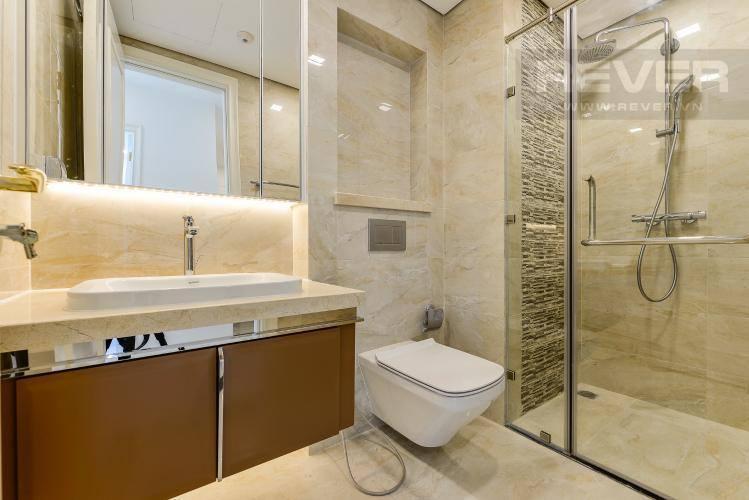 Phòng Tắm Bán căn hộ Vinhomes Golden River 1PN, tầng cao, tháp The Aqua 1, view thành phố