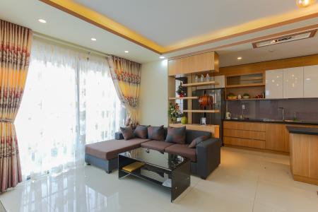 Căn góc The Gold View 3 phòng ngủ tầng cao tháp B đầy đủ nội thất