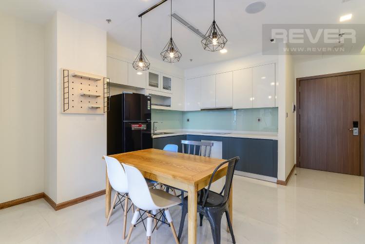 Phòng ăn Căn hộ Vinhomes Central Park 2 phòng ngủ, tầng cao P6, nội thất đầy đủ