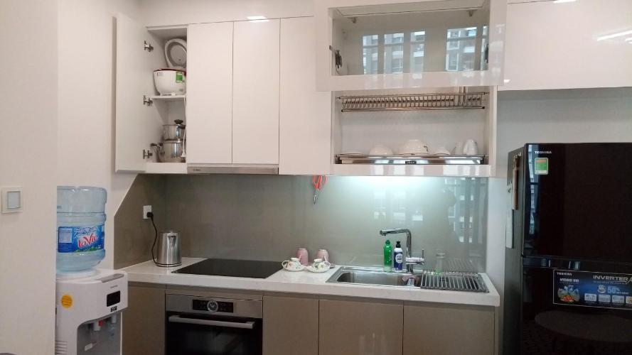 Phòng bếp Vinhomes Central Park Căn hộ Vinhomes Central Park tầng cao hướng view nội khu yên tĩnh