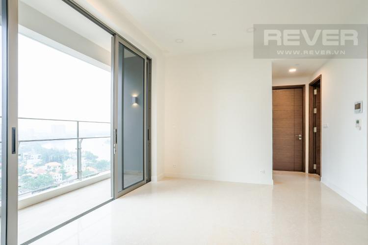 Phòng Khách và Lobby Bán căn hộ The Nassim Thảo Điền tầng cao, 2PN, view sông