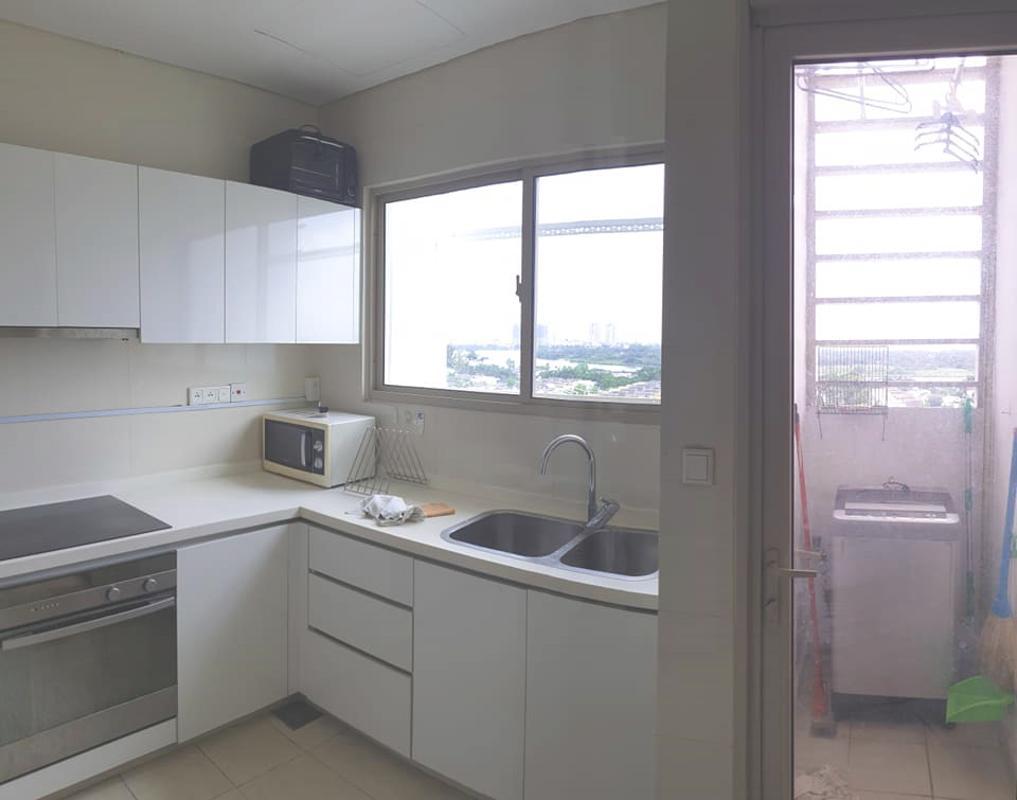 Kitchen Bán hoặc cho thuê căn hộ The Vista An Phú 2PN, tầng thấp, đầy đủ nội thất, view sông thoáng mát