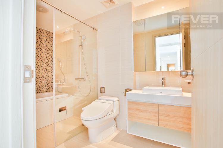 Toilet 2 Căn hộ New City Thủ Thiêm tầng thấp tòa Bali, 3 phòng ngủ diện tích 101.34m2, view sông.