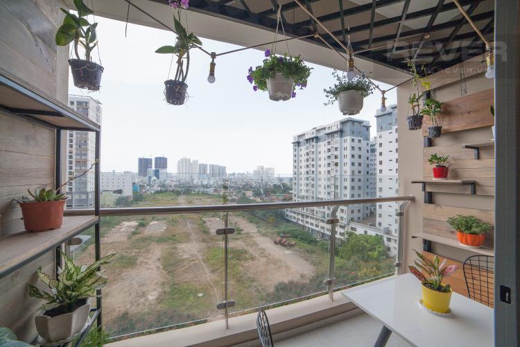 View Căn hộ The Gold View 2 phòng ngủ tầng thấp tháp B nội thất đầy đủ