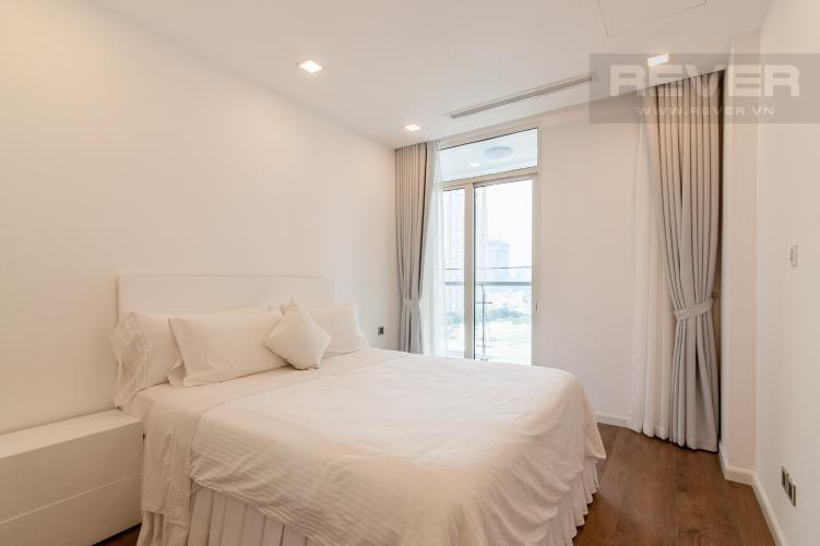 Phòng ngủ Căn hộ Vinhomes Central Park 1 phòng ngủ tầng thấp P6 hướng Đông Bắc