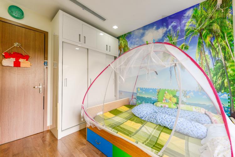 Phòng ngủ 2 Căn hộ Vinhomes Central Park tầng thấp. Park 6, 2 phòng ngủ, full nội thất