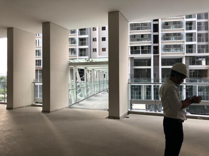 Dự án Phú Mỹ Hưng Midtown Bán căn hộ 1 phòng ngủ tầng thấp Phú Mỹ Hưng Midtown, diện tích 42.9m2, bàn giao thô.