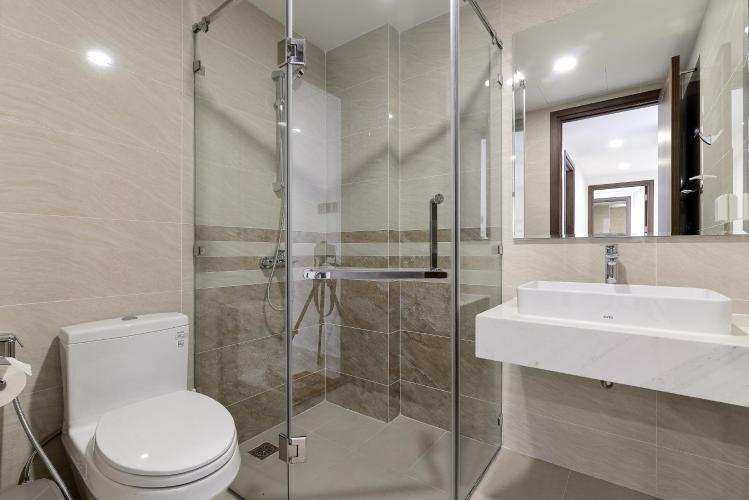 Phòng tắm căn hộ Saigon Royal Căn hộ Saigon Royal tháp A tầng cao 3 phòng ngủ, view hướng Bitexco.